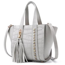Metal & Tassel Decro Lady′s Handbag Wzx22235