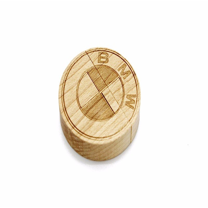 Hot Products Wooden Coin Usb