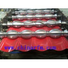 Профилегибочная машина для производства цветной стальной плитки Ibr