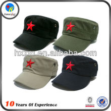 MILITARY CUSTOM STAR FLAT TOP CAP