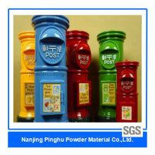 Revestimentos Industriais de Poliéster em Pó para Uso de Caixa de Correio