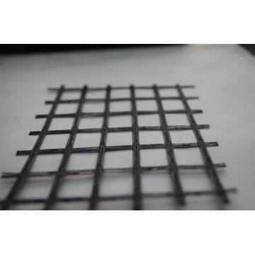 Geogrid Uniaxial Poliester Tembok Tahan
