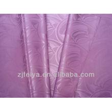 Hot selling African Garment Fabric Damask Guinea Brocade 100%polyester Bazin RicheCheap