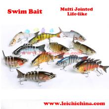 Multi Jointed Life Like Hard Body Swim Bait Lure
