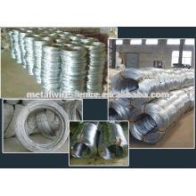 hot sale zinc coated galvanized iron wire supplier
