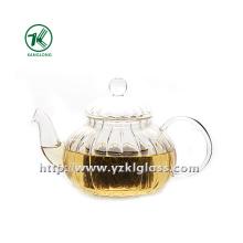 Clear Single Wall Glass Teapot by SGS (560ML)