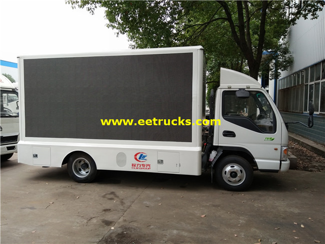 Mobile P5 LED Billboard Vehicles