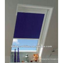 Horizontal sliding skylight blind