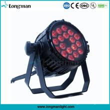 IP65 18 * 10W RGBW LED Aluminium Außenleuchten