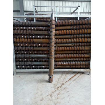 Solar Ground Screw Pile Helical Piers