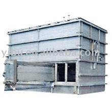 Séchoir à lit fluidisé pour chauffage intérieur utilisé dans les amines hydrogénées