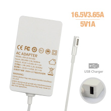 60W 16.5V 3.65A AC Adapter for MacBook Charger A1435