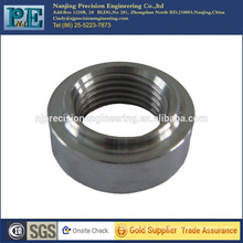Custom cnc turning stainless steel nut for auto parts