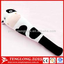 Recibió el precio de fábrica de juguetes suaves de masaje de peluche de vaca