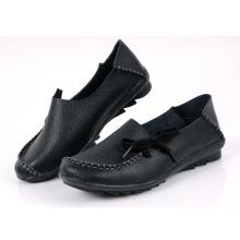 Senhoras condução sapato Doug sapatos sapatos casuais sapatos de couro (bd0615-12)