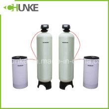 Sistema de filtro de ablandador de agua para equipos de tratamiento de agua