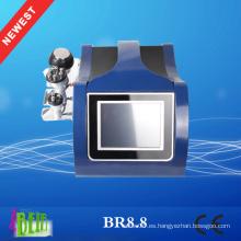 Máquina de la cavitación 40k Cavitación del RF que adelgaza la máquina Dispositivo gordo de la cavitación para el hogar