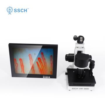 Biologisches Mikroskop Mikrozirkulationskapillarbeobachtung