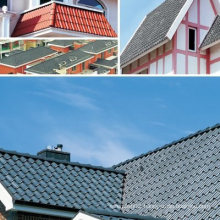 House Roof Model Colored Interlocking Terracotta Roof Tile