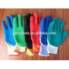 1/2 gant revêtu de latex, anti-dérapant et coupe résistant aux gants de travail
