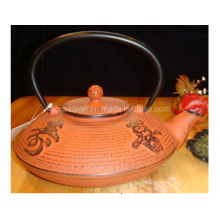 0.8L Hot Sale Cast Iron Teapot with Stainless Steel Filter