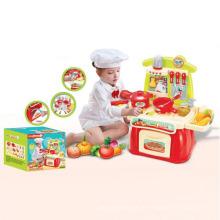 Heißer Verkauf elektrische B / O Spielzeug Küche spielen Set mit Sound und Licht (10221874)