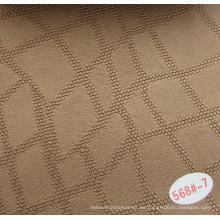 Famoso patrón de cuero decorativo hecho en China