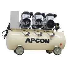 Low Noise APCOM EX1500*3 4.5 kw Oil Free Piston Small Air Compressor 4KW 5KW Piston Air Compressor Air Compressor 5 hp 4 kw