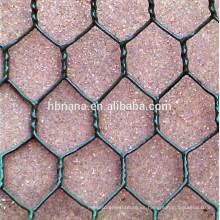 malla de alambre hexagonal galvanizada en caliente / malla de alambre de pollo hexagonal