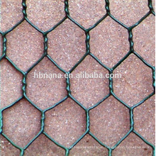 hot dip galvanized hexagonal wire netting / hexagonal chicken wire mesh