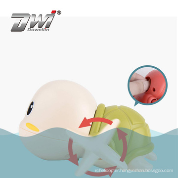 Dowellin Cartoon Tortoise Bath Toy Baby Water Toys