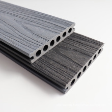 Outdoor WPC Flooring Wood Plastic Composite Decking Board with Co-Extrusion Wood Grain
