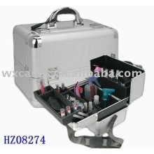fashionale strong aluminum cosmetic case with different colors