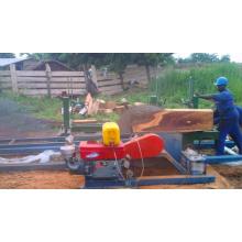 Maquinaria de madera de la sierra de la sierra circular de la carpintería con el carro