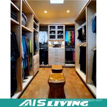 Home Furniture Walnut Pull out Wardrobe Closet (AIS-W295)
