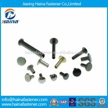 Diferentes Tamaños de acero inoxidable Tubular Remaches / Latón Tubular Remaches / Aluminio Tubular Remaches