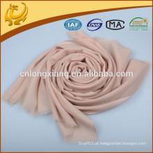 Novo material de design de mulher ODM e cachecol de lã OEM