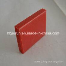Placa plástica dos PP de 0.91-0.97g / cm3 densidade com cor vermelha