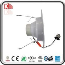 Lâmpada LED de 4000k AC120V 10W 15W Downlights