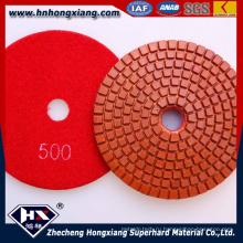 Высокоглянцевые мокрые гибкие алмазные полировальные подушки (HX)