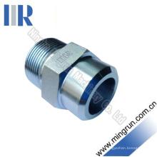 Encaixe de tubo hidráulico de solda de rosca métrica (1CW)