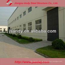 Low-Cost-Workshop mit Stahl Bogen Traversen Struktur für Export