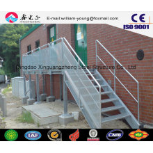 Сборная стальная наружная лестница для мастерских и складов (JW-16250)