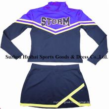 Long Sleeve Cheerleader Uniforms