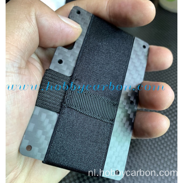 Luxe Credit ID Card carbon houder