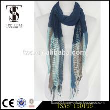 half cotton half viscose print stripe lady scarf halloween costume accessories