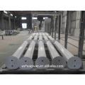 Poteau de stationnement en acier octogonale personnalisé de 1 mètre de hauteur