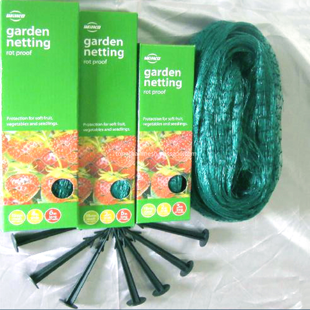 Plastic Garden Anti Bird Net