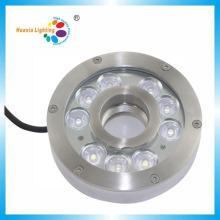 Lumière imperméable de fontaine sous-marine de 276 LED de l'acier inoxydable 316