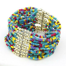 Perles de verre multicouches populaires Perles de graines Bracelets FB27